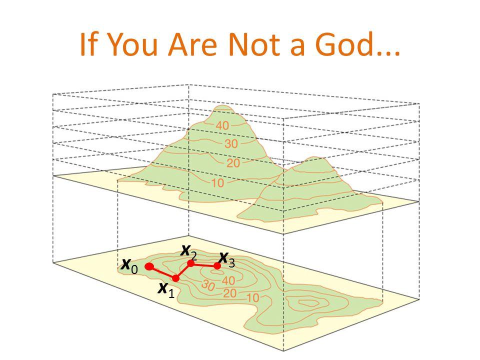 If You Are Not a God... x0x0 x1x1 x2x2 x3x3