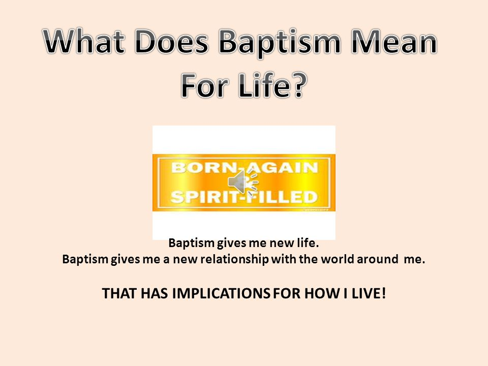 Have you ever been asked, Usually this question is asked by someone who thinks that infant Baptism is not REAL Baptism.