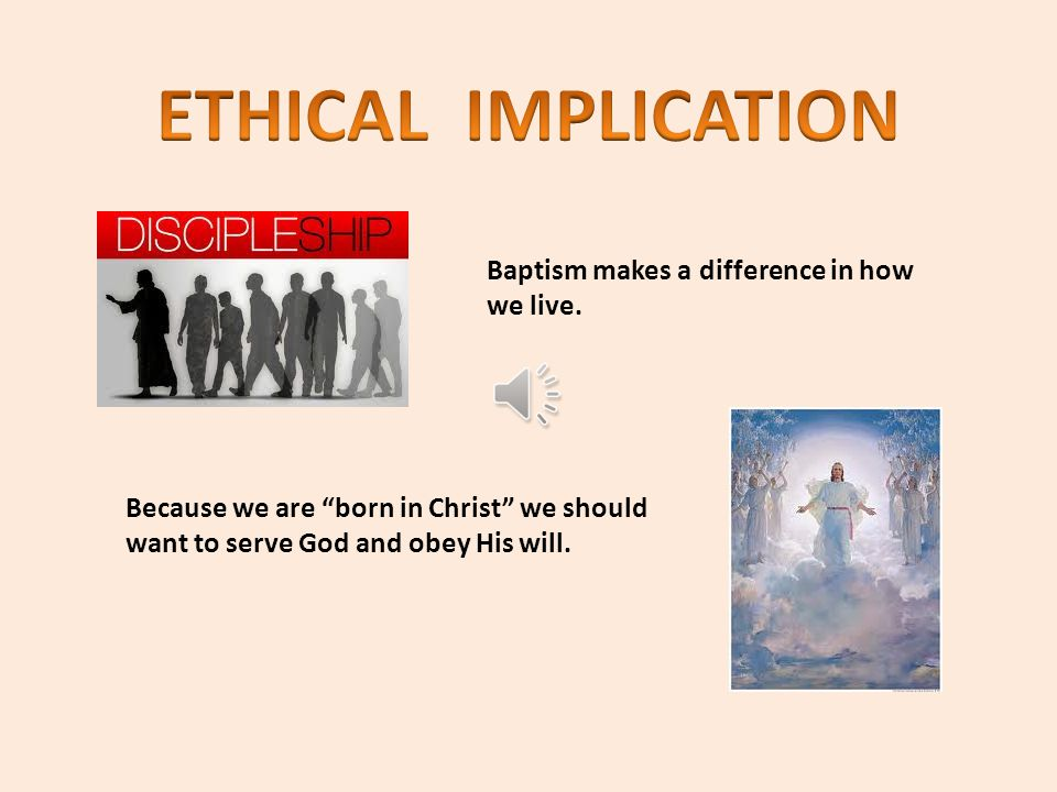 1.Ethical Implication 2.Corporate Implication 3.Eschatological Implication 4.Mission Implication