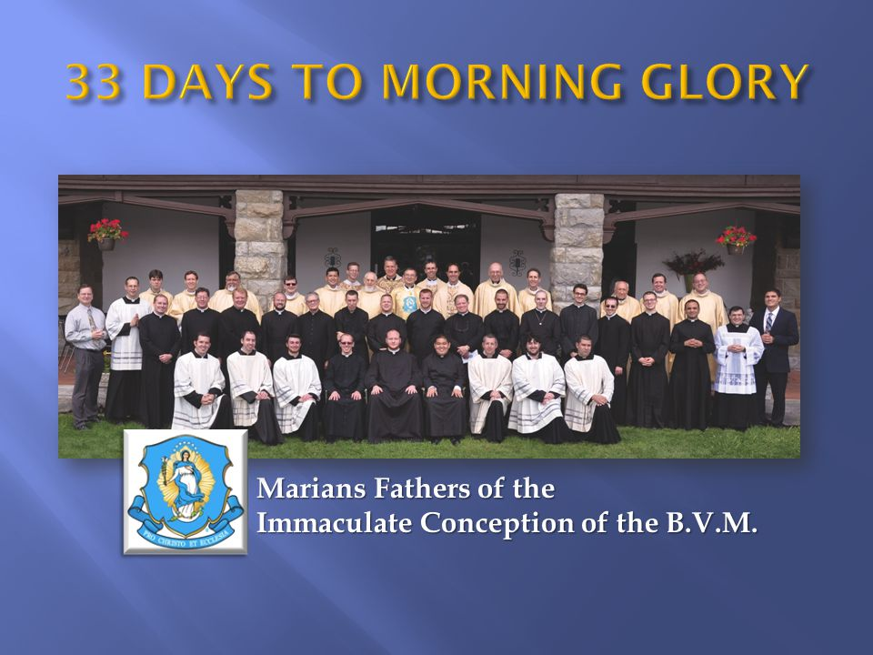 Marians Fathers of the Immaculate Conception of the B.V.M.