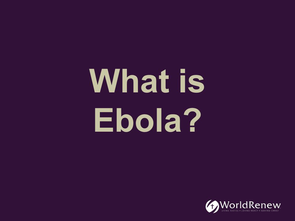 Ebola is a severe, often fatal, illness that spreads by human to human transmission.