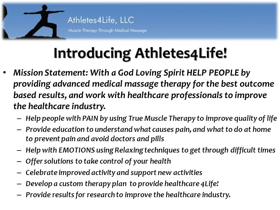 Introducing Athletes4Life.