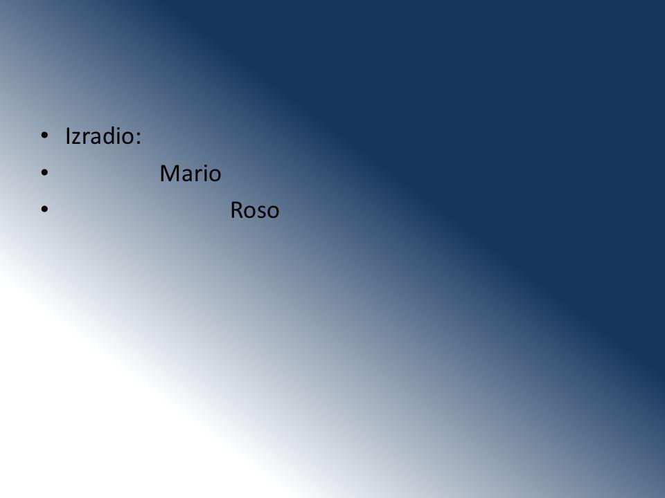 Izradio: Mario Roso