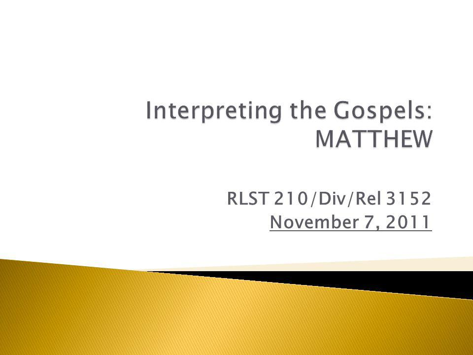  See PowerPoint Sept 19  Matthew 5:27-32 & 19:1-12 as GOOD NEWS  5:31-32 = To preserve the good relationship that marriage is a GOOD GIFT FROM GOD that WE NEED TO PRESERVE; but with a CONDITIONAL CLAUSE ( except… ): of course, only insofar as this good relationship actually exists.