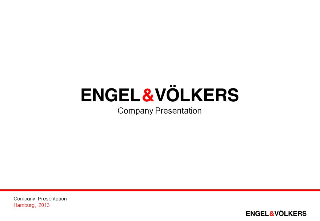 Company Presentation 2 Our Vision We link together the aspirations of discerning individuals around the world – be it in a private or a business context – with total passion.