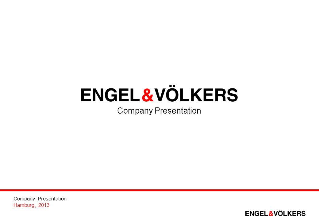 Company Presentation Hamburg, 2013