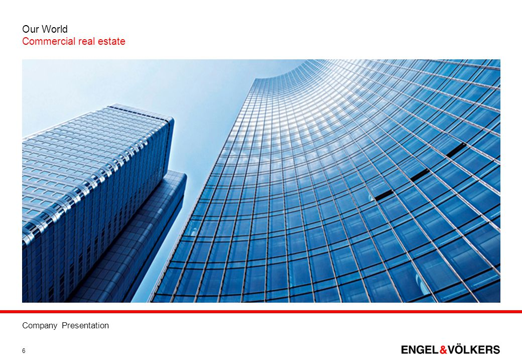 Company Presentation 17 IT-Services GmbH is a wholly owned subsidiary of the Engel & Völkers Group.