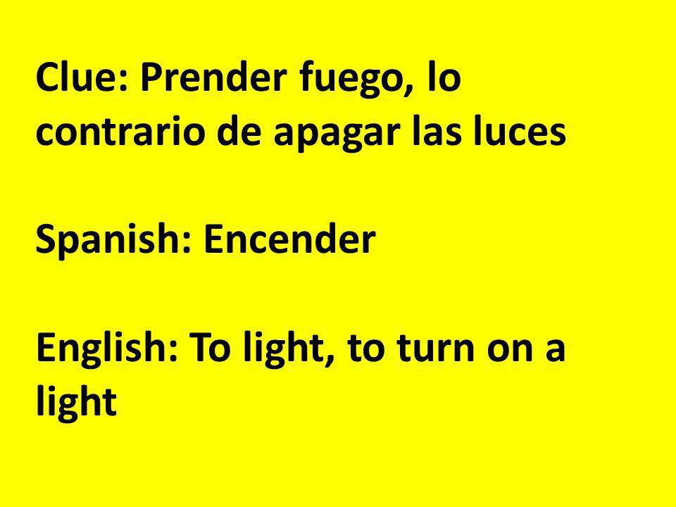 Clue: El padre, el sacerdote Spanish: La cura English: The priest