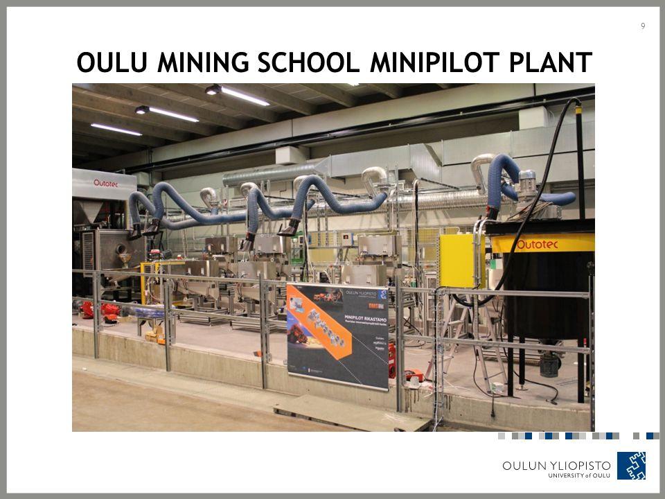 OULU MINING SCHOOL MINIPILOT PLANT 9