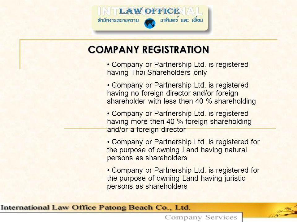 Partnership Ltd.THAI-CITIZENS as DIRECTOR min.