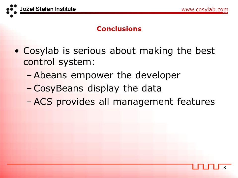 Jožef Stefan Institute www.cosylab.com 19 How program generators work?