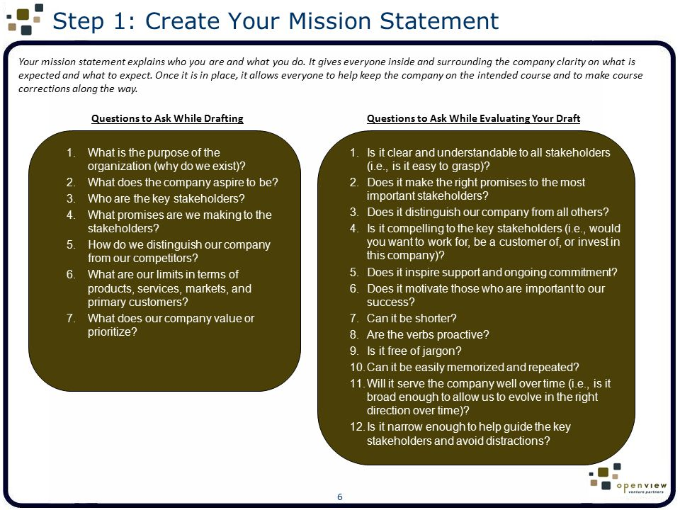37 Create Your Final Values Statement Insert your final values statement here:
