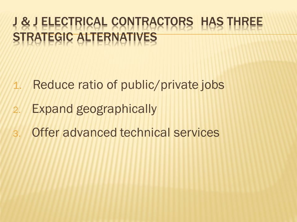 1. Reduce ratio of public/private jobs 2. Expand geographically 3.