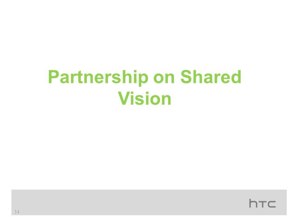 Partnership on Shared Vision 14