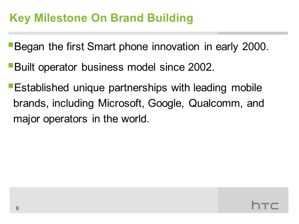  Began the first Smart phone innovation in early 2000.