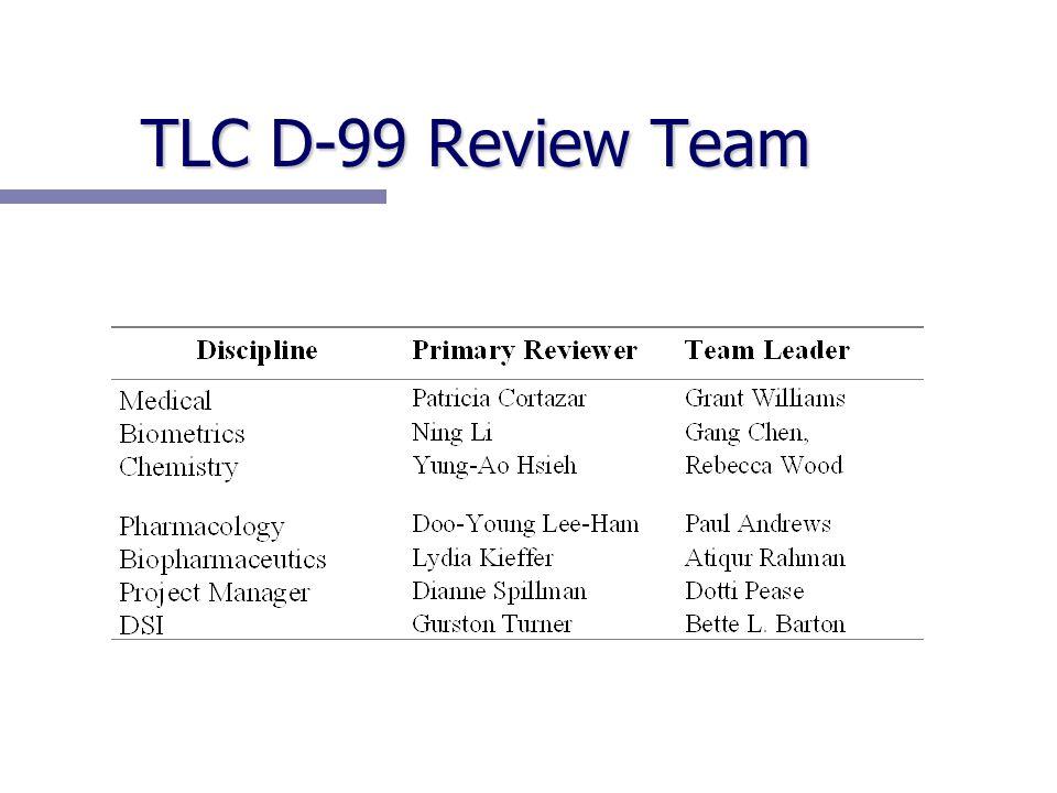 TLC D-99 Review Team