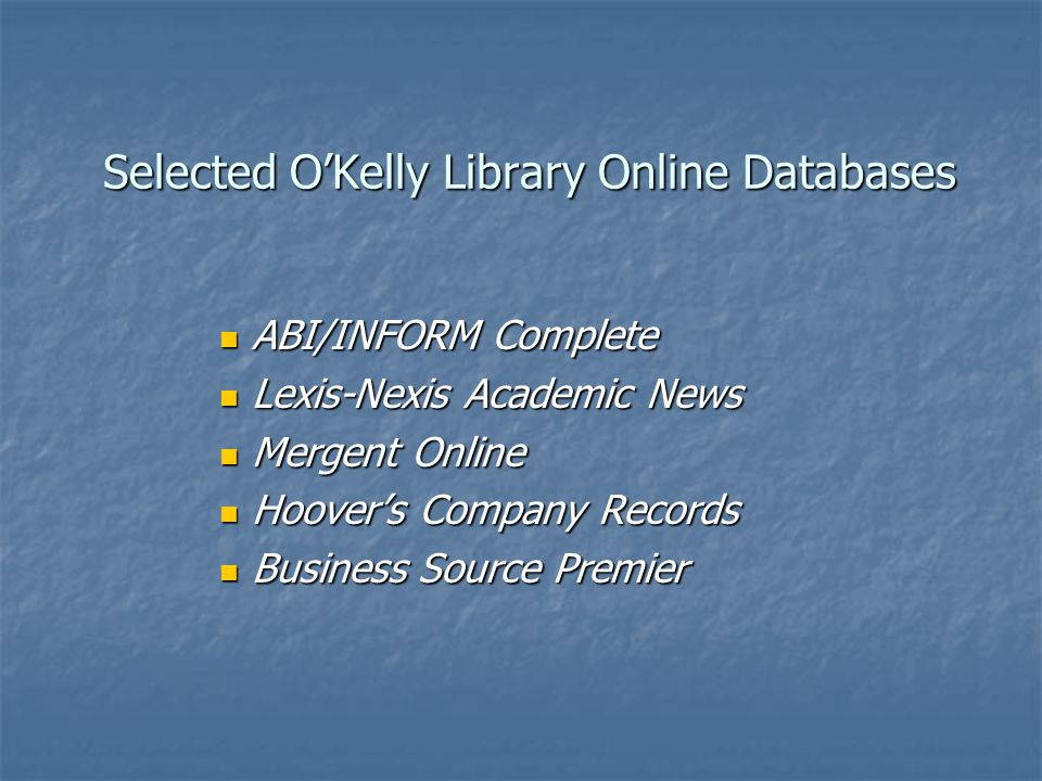 Search Lexis-Nexis Academic for Public and Private Company Information.
