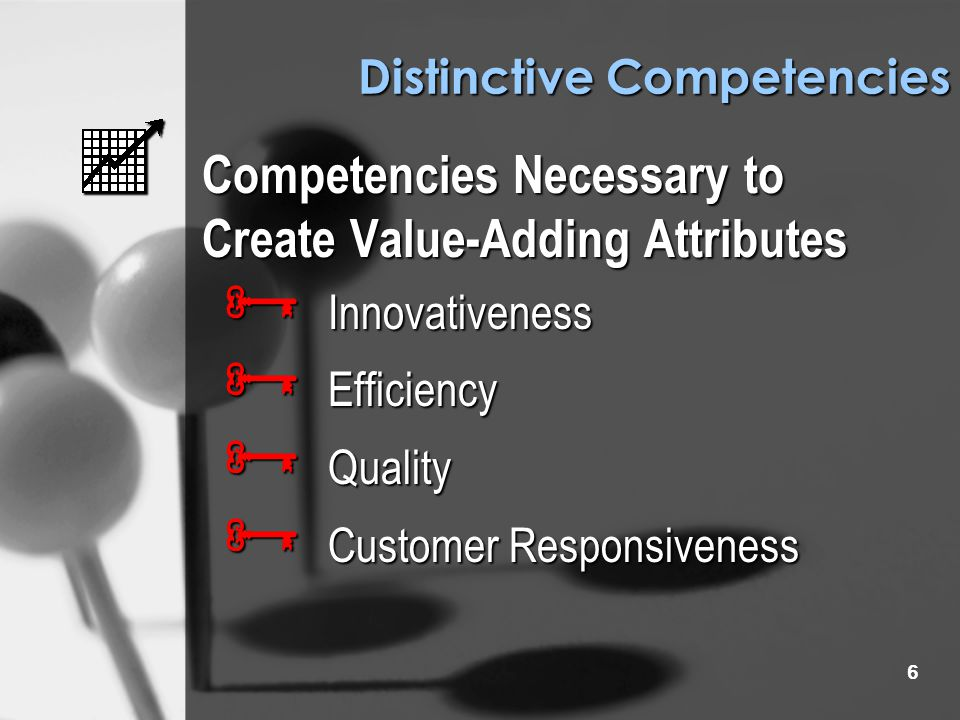 5 Sustainable Competitive Advantage FORMULATION Expand Consumer Perceptions of Product to include Attributes that will have Enduring Value  Acquisiti