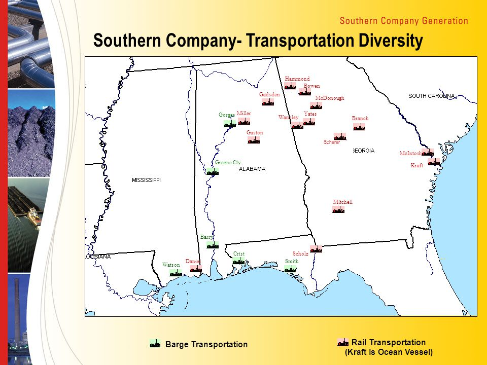 Southern Company- Transportation Diversity Watson Daniel Barry Crist Smith Greene Cty.