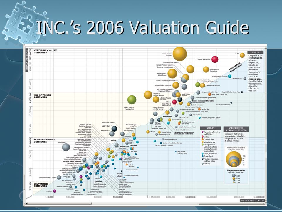 INC.'s 2006 Valuation Guide