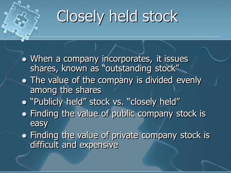 Why value a company.