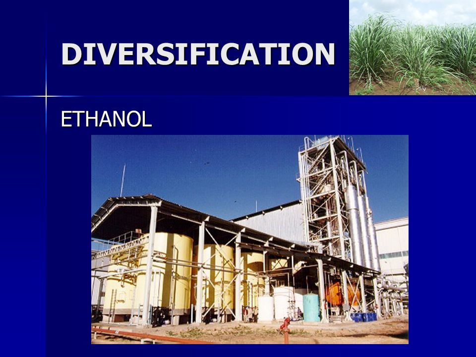 DIVERSIFICATION ETHANOL