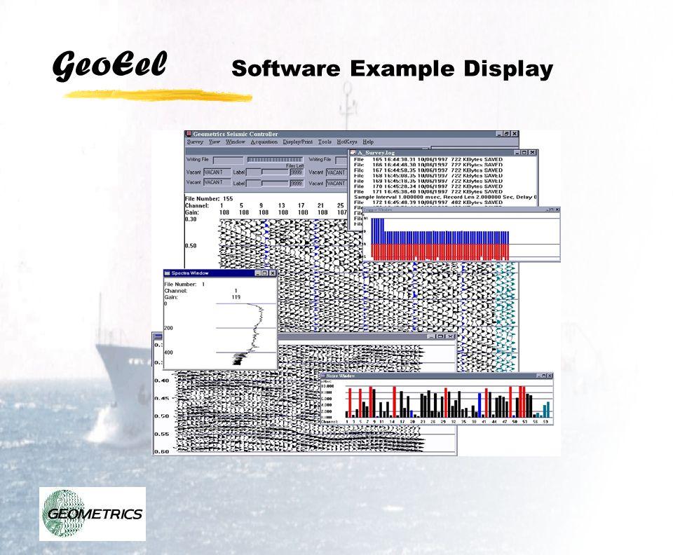 GeoEel Software Example Display