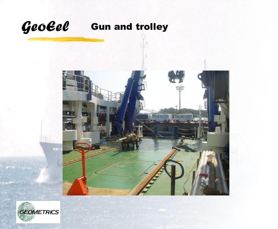 GeoEel Gun and trolley