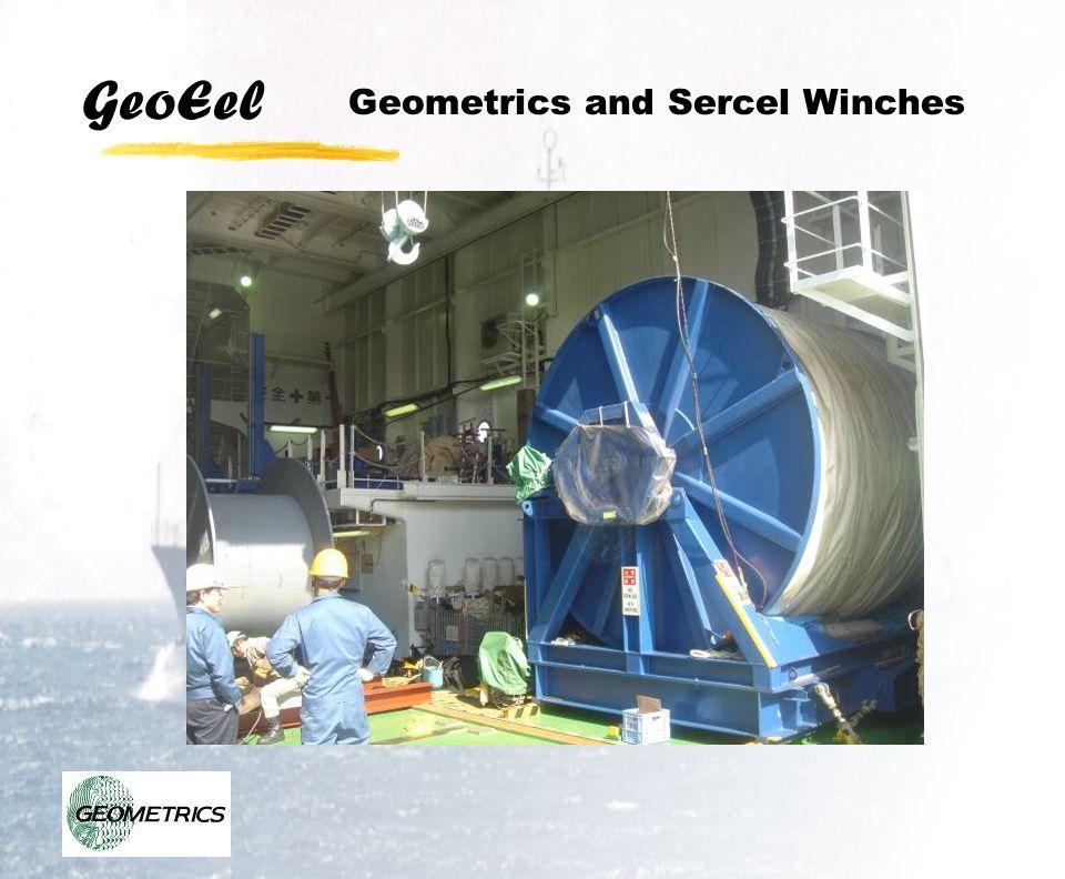 GeoEel Geometrics and Sercel Winches