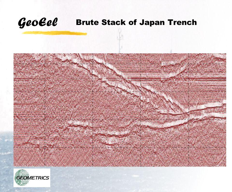 GeoEel Brute Stack of Japan Trench