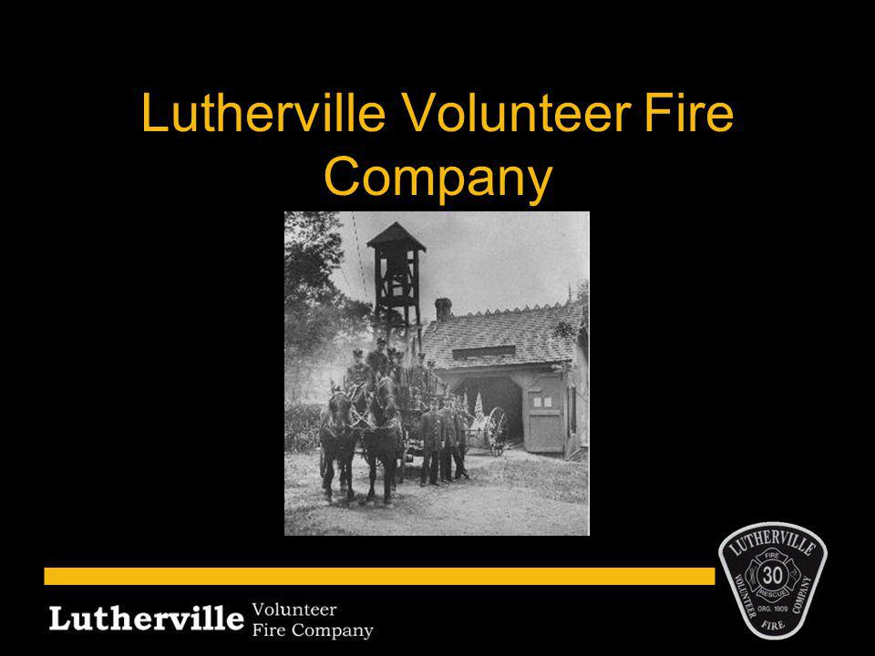 Who We Are Provide fire, rescue and first responder emergency medical services to Lutherville and 34 surrounding communities Established 1909 Been in present location since 1927 Station 30 of Baltimore County Fire Department