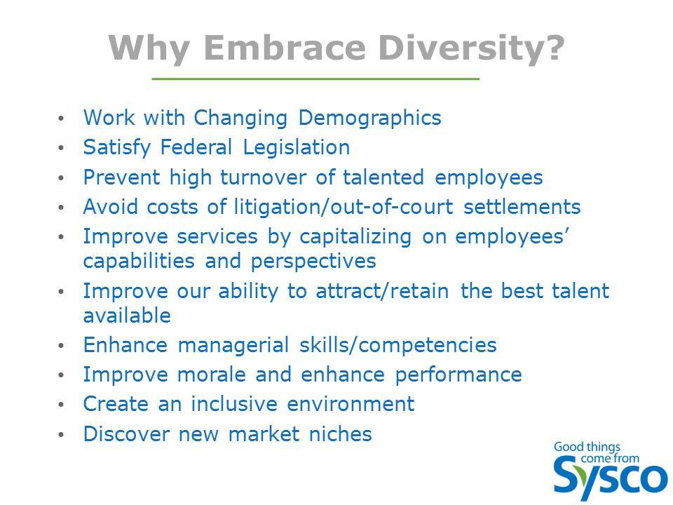 Why Embrace Diversity.