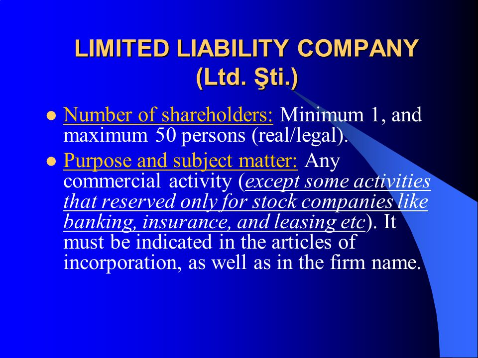 What are the main differences between a limited liability company and a corporation?