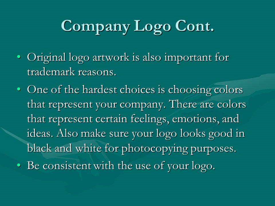 Company Logo Cont.