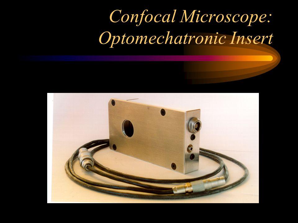 Confocal Microscope: Optomechatronic Insert