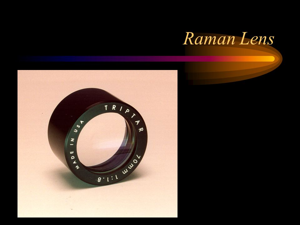 Raman Lens