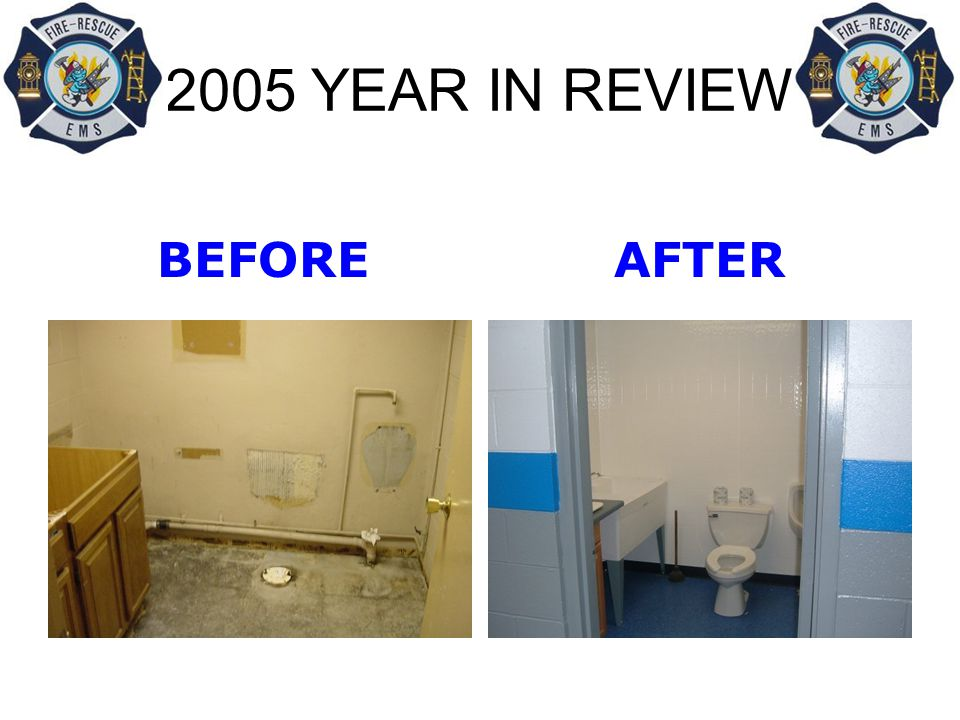 2005 YEAR IN REVIEW BEFORE AFTER