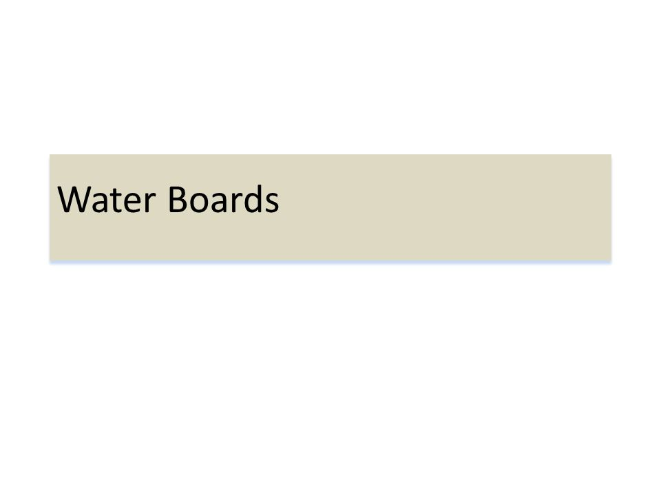 Water Boards