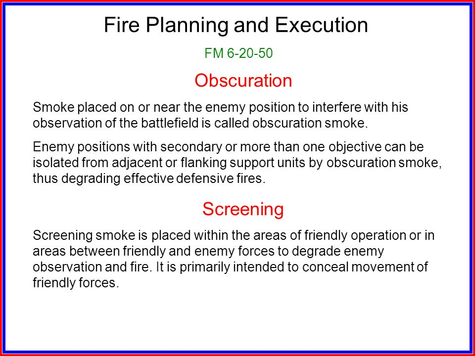 Preparatory Fires (Continued) Enforce target refinement cutoff times Articulate the number of elements or size of elements you want engaged during eac