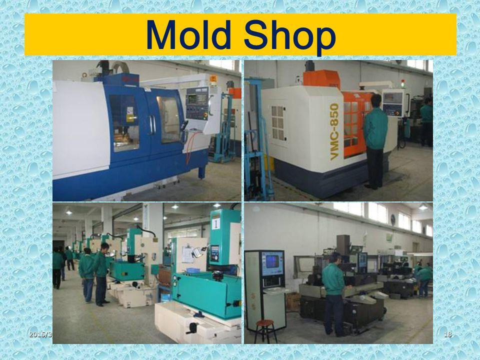 2015/3/3118 Mold Shop