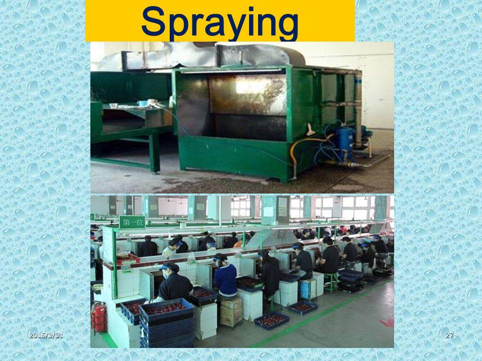 2015/3/3127 Spraying