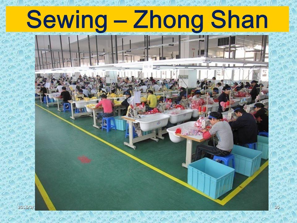 2015/3/3130 Sewing – Zhong Shan