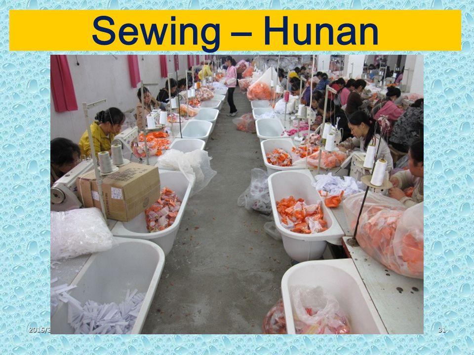 2015/3/3131 Sewing – Hunan