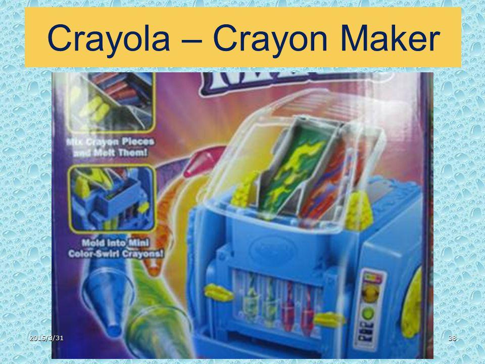Crayola – Crayon Maker 2015/3/3138