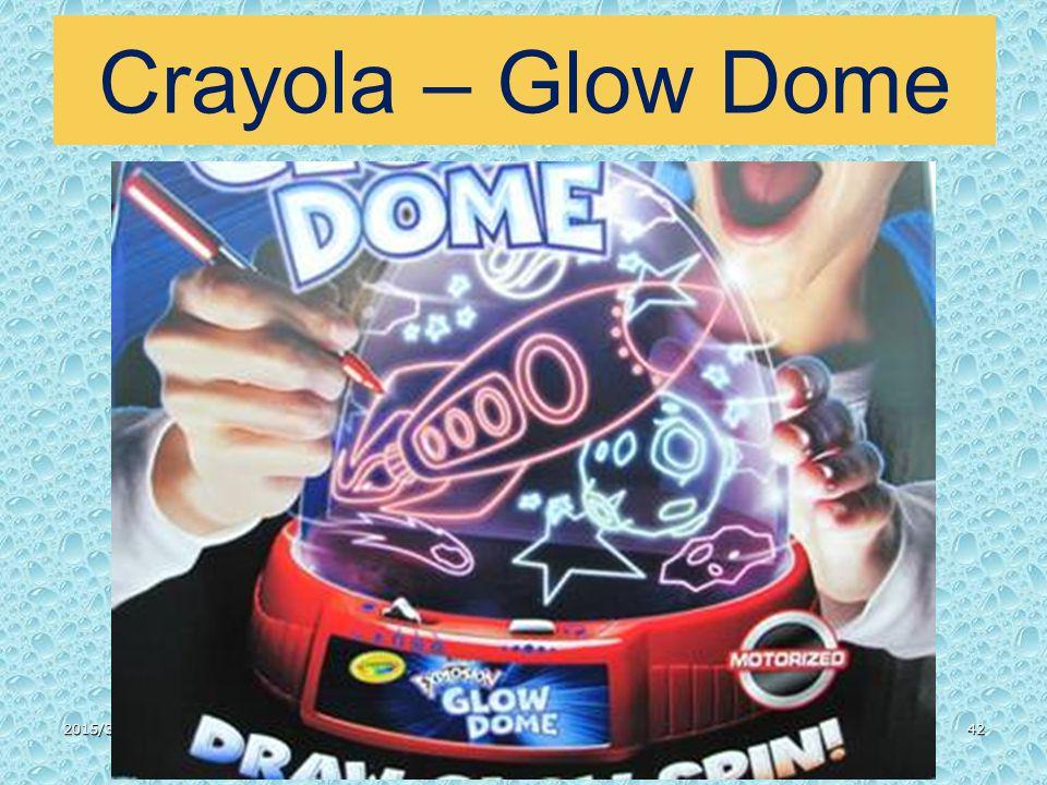 Crayola – Glow Dome 2015/3/3142