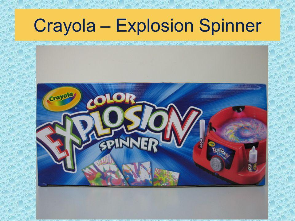 Crayola – Explosion Spinner
