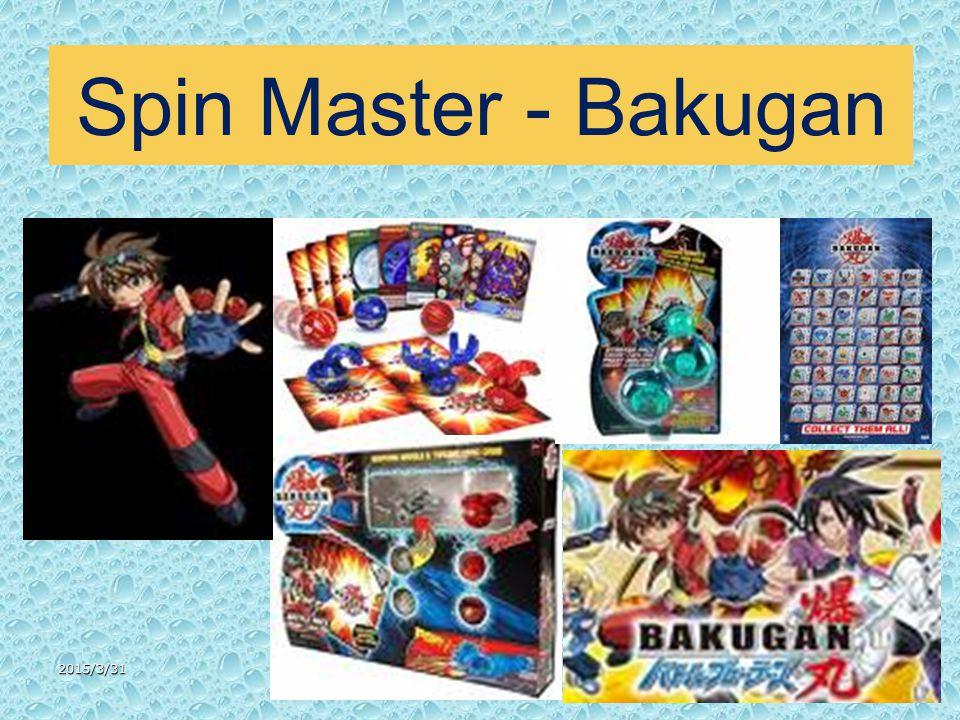 2015/3/3147 Spin Master - Bakugan