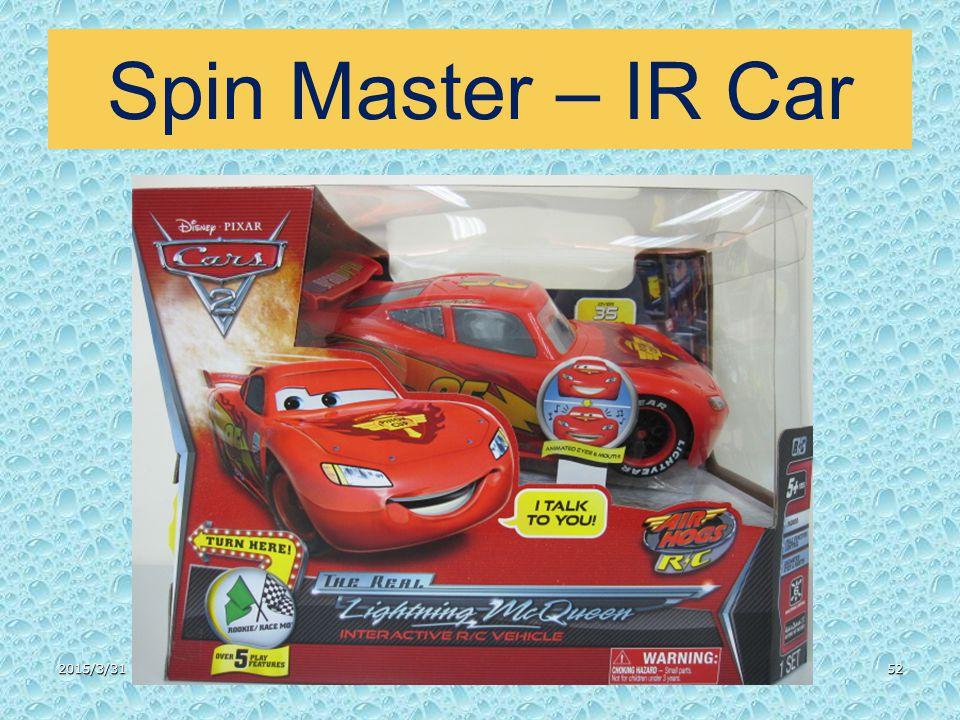 Spin Master – IR Car 2015/3/3152
