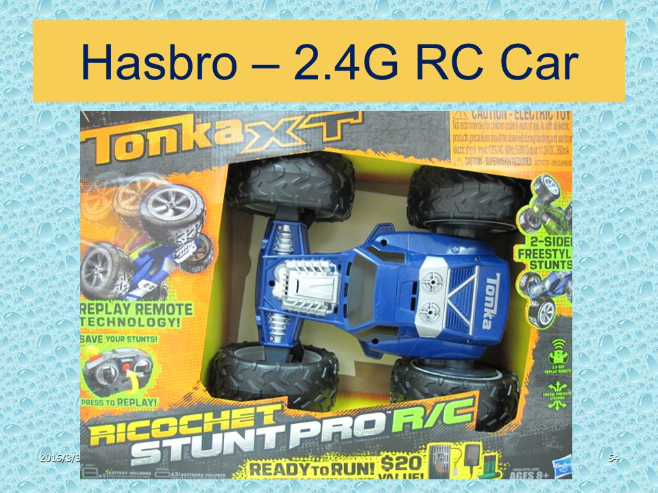 Hasbro – 2.4G RC Car 2015/3/3154
