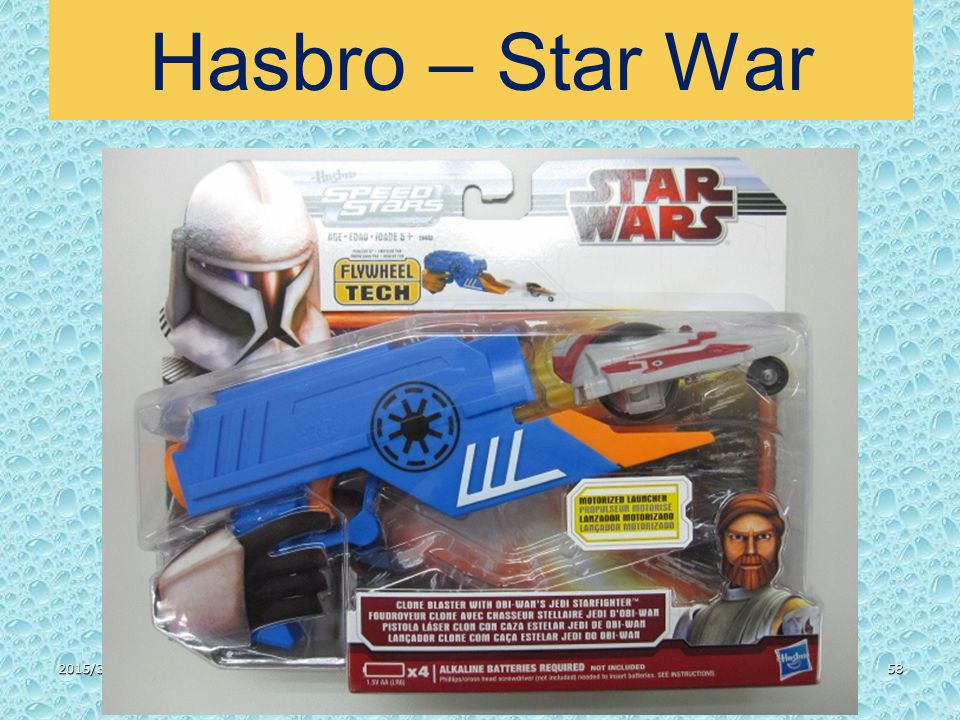 2015/3/3158 Hasbro – Star War